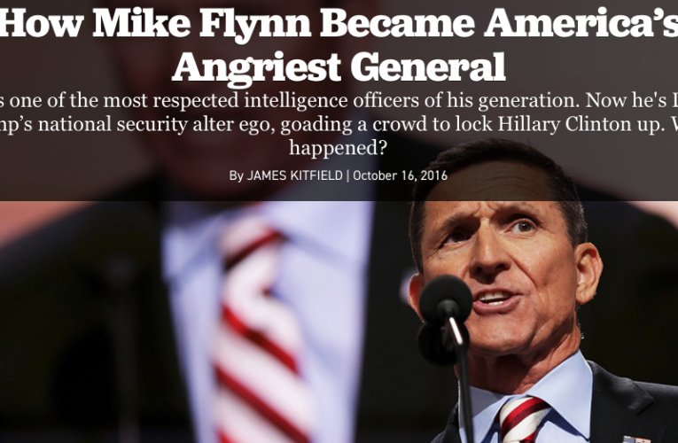 General Mike Flynn Charlotte